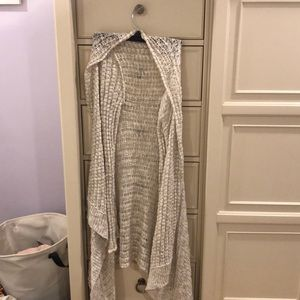 Long Knotted Sweater/Cardigan